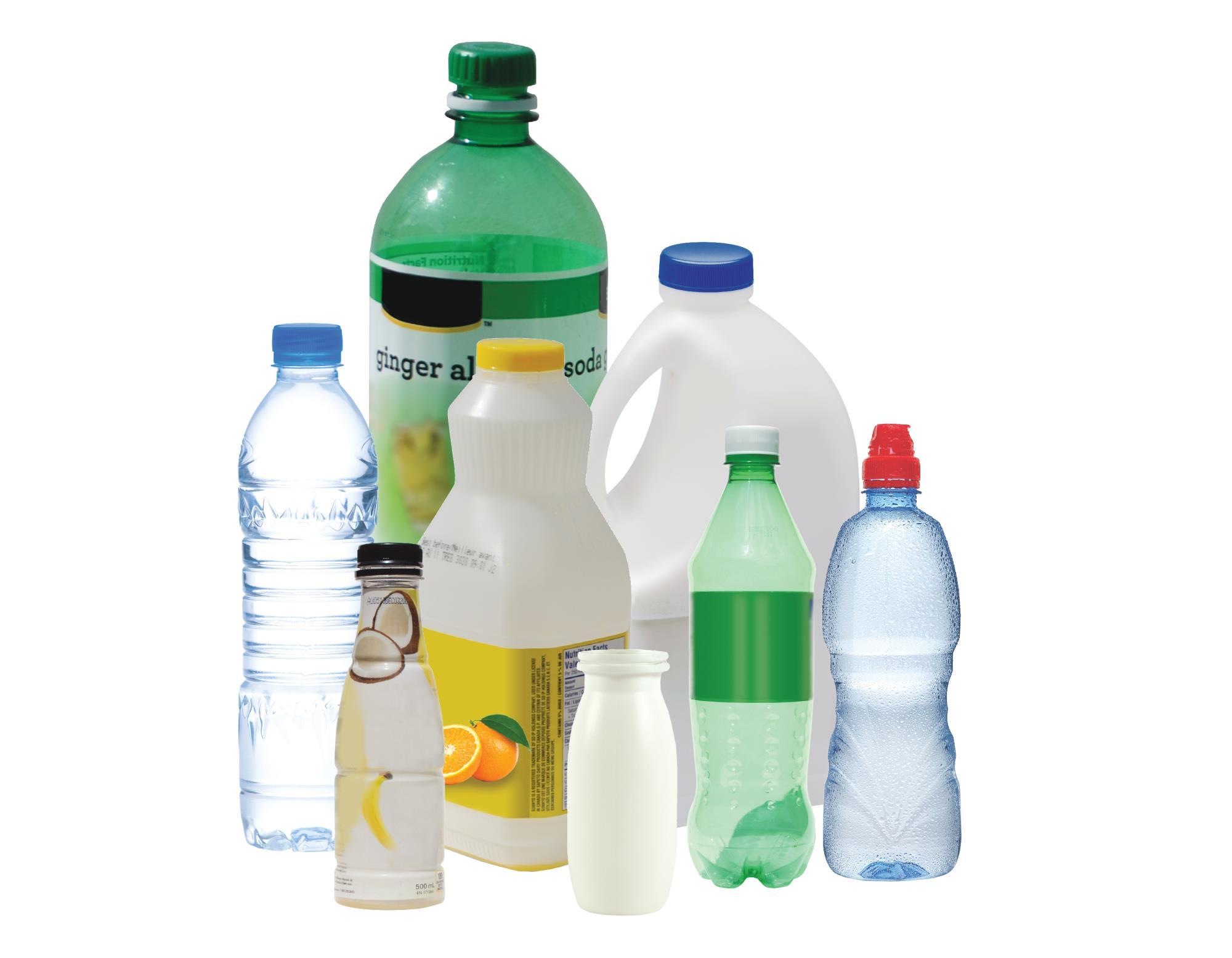 accepted plastic beverage bottles