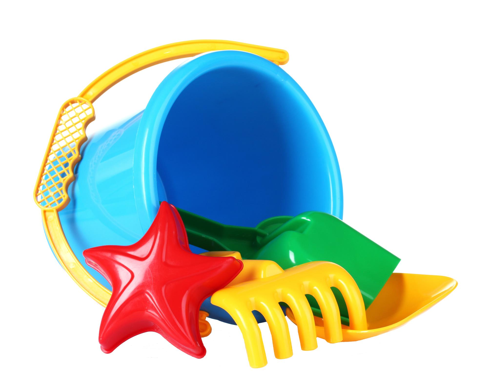 unaccepted plastic Sand Pail and Toys