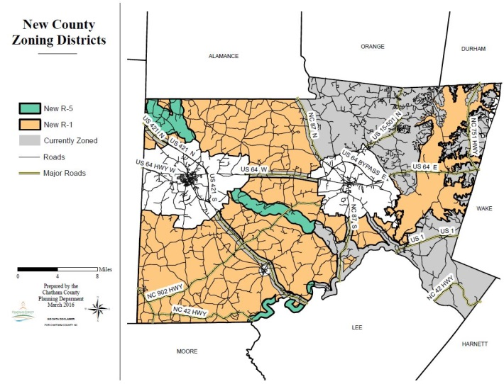New County Zoning Map