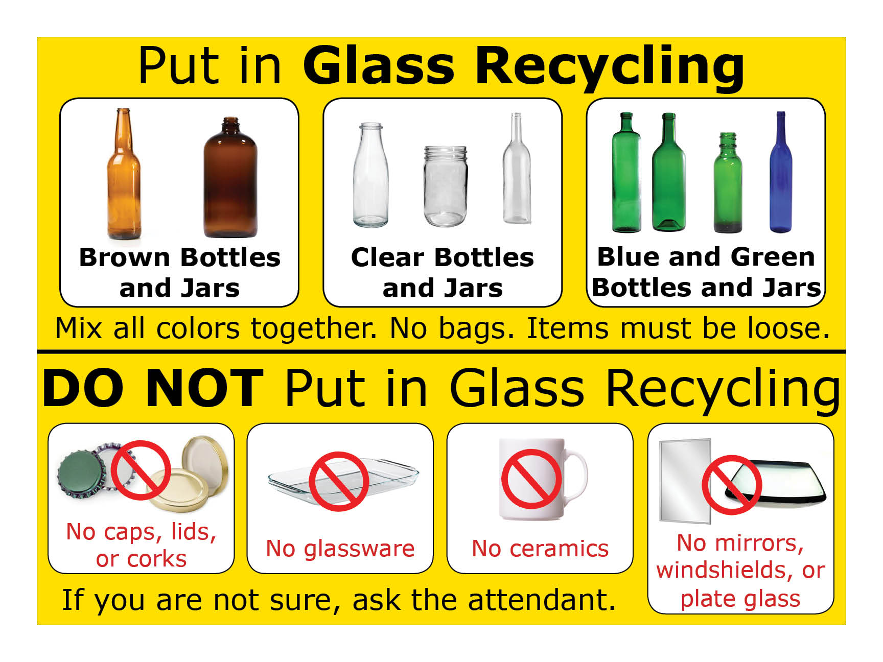 Glass Recycling Sign Final