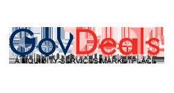 Logo for GovDeals.com