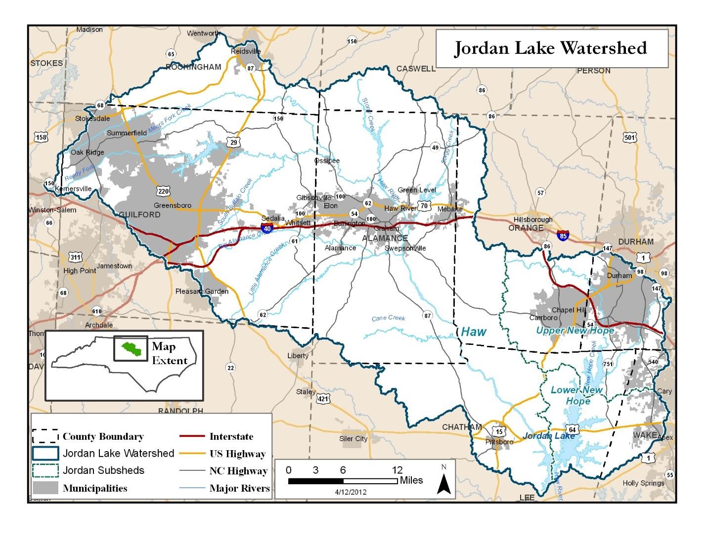 New Jordan Lake Rules Information | Chatham County, NC