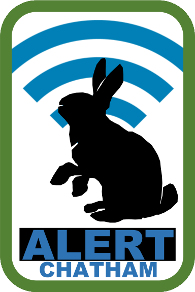ALERT Chatham Rabbit Logo 2019