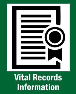 register of deeds icon for vital records