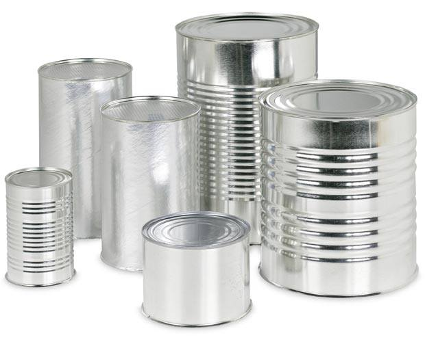 Accepted Steel Cans