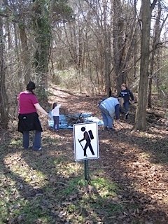 Town Lake Trail Clean-up