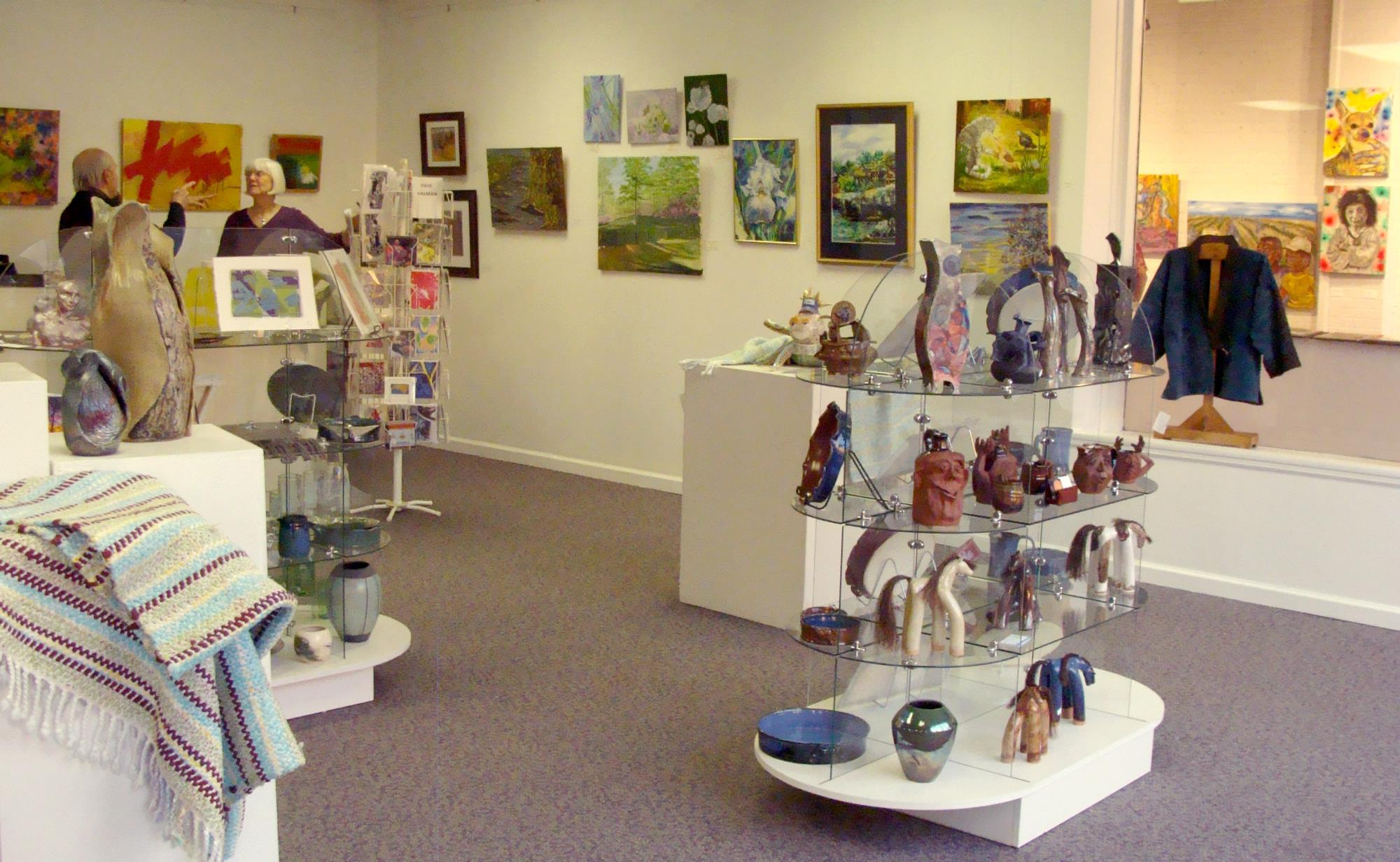 NC Arts Incubator Retail Gallery