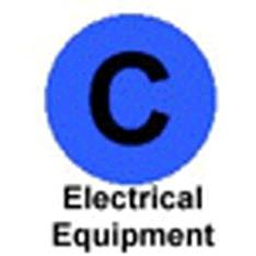 old symbol to indicate electrical equipment