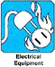 new extinguisher symbol for electrical fires