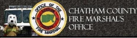 page banner for fire marshal