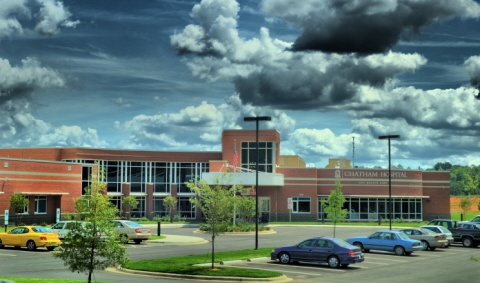 Photo of Chatham Hospital's new facility in Siler City