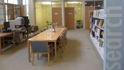 Local History & Genealogy area of Chatham Community Library