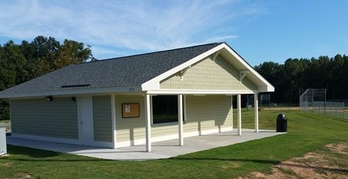 Concession building & restrooms